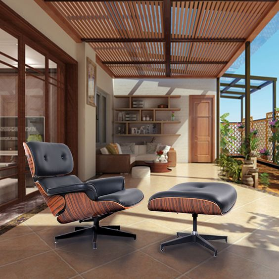 Excellent How Our Iconic Eames Lounge Chair Replica Is Made From Start Beatyapartments Chair Design Images Beatyapartmentscom