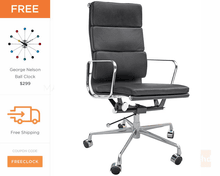 Eames Office Chair | Soft Pad Executive Chair