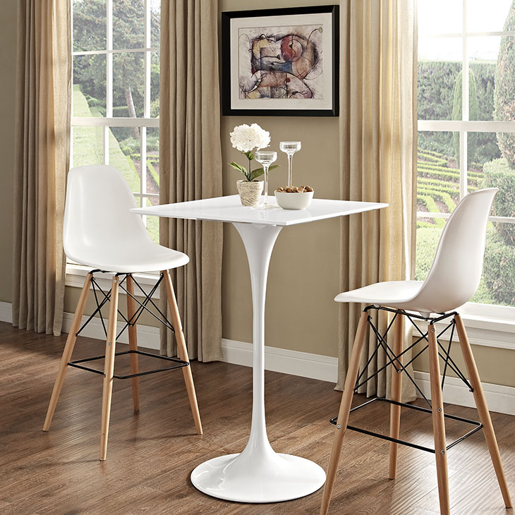 Tulips Tables For Modern Settings - Tulip table wood top