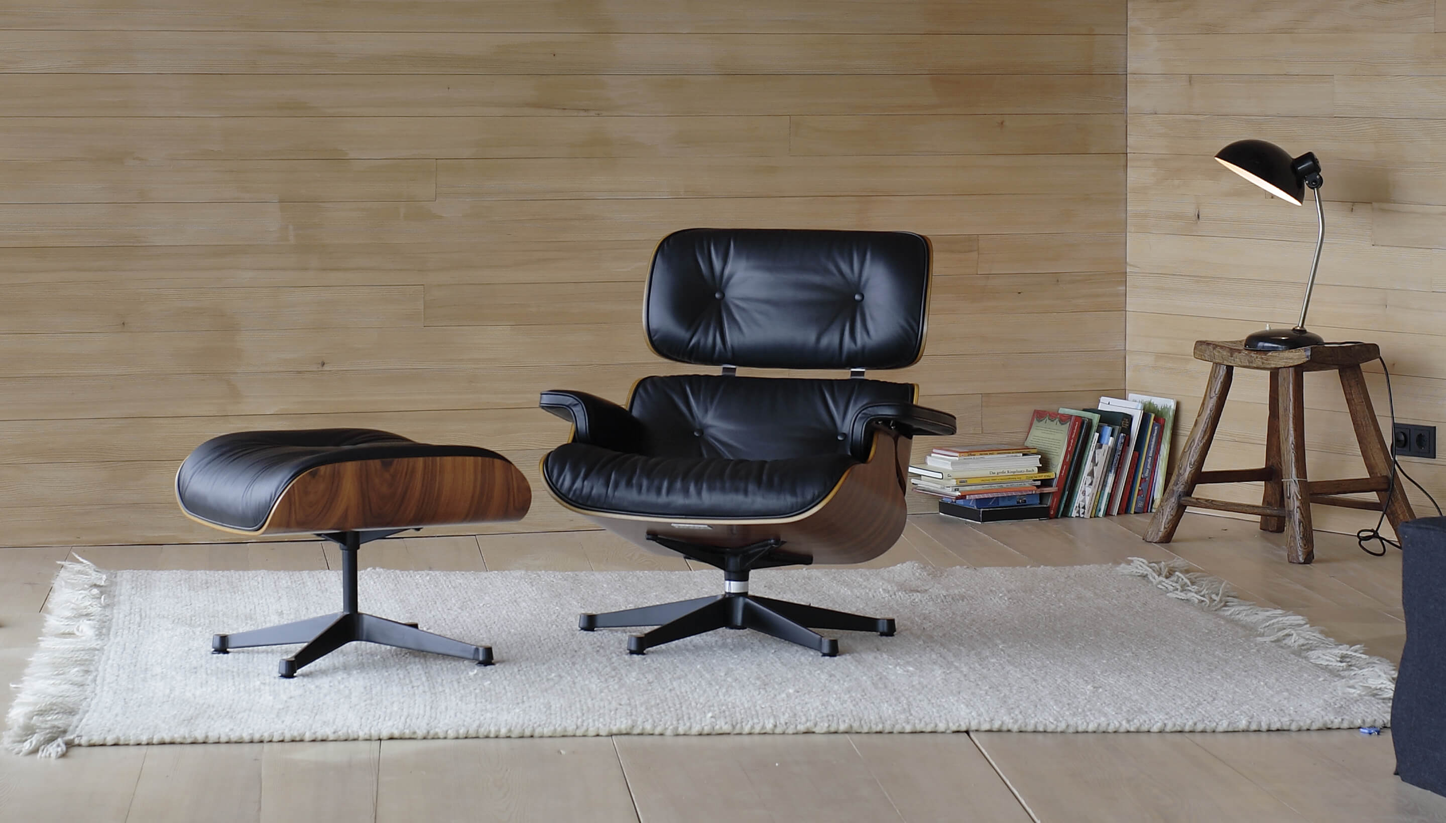 The Eames Lounge Chair Was Voted A Public Favorite In Home